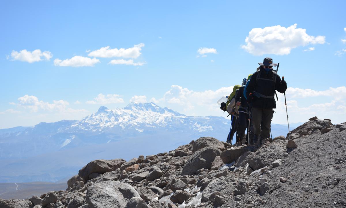 Cordillera Volcanica - Die höchsten Berge Südperus